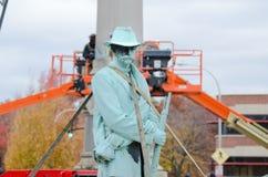 Статуя Confederate Стоковая Фотография RF