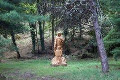 Статуя Crist Стоковые Фотографии RF