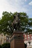 Статуя Danylo Halytsky в Львове Украине Стоковая Фотография RF