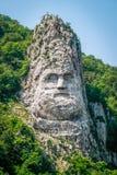 Статуя Decebalus стоковое изображение