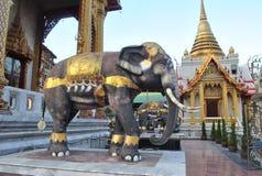 Статуя Elephante в wat samien висок Бангкок Таиланд nari Стоковое фото RF
