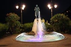Статуя Flavio Gioia, Амальфи Стоковые Изображения RF