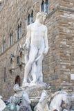 статуя florence Нептуна Стоковое Фото