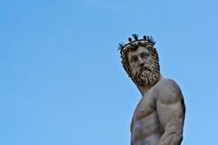 статуя florence Нептуна Стоковые Изображения RF