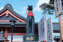 Статуя Fox Стоковые Изображения RF