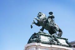 статуя franz i joseph императора Стоковое фото RF