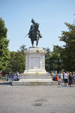 Статуя Garibaldi Стоковая Фотография RF