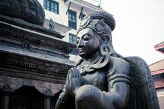 Статуя Garuda в квадрате Durbar, Катманду, Непале Стоковые Изображения