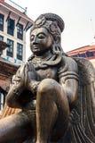Статуя Garuda в квадрате Durbar, Катманду, Непале Стоковые Фотографии RF