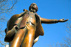статуя george lloyd стоковая фотография rf