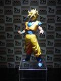 Статуя Goku сынка героя ШАРИКА ДРАКОНА Стоковые Изображения RF