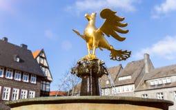 Статуя goslar Германия беркута Стоковые Фото