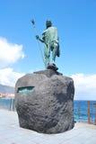 статуя guanches стоковая фотография rf