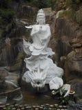 статуя guanyin огромная стоковое изображение