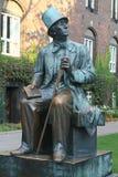 Статуя H. Ch. Andersen в Копенгагене Стоковое Изображение RF