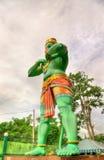 Статуя Hanuman, индусский бог, на пещере Ramayana, Batu выдалбливает, Куала-Лумпур Стоковые Фотографии RF