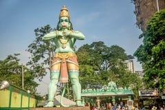 Статуя Hanuman на пещерах Batu подземелья Ramayana, Куалаа-Лумпур Стоковые Изображения RF