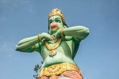 Статуя Hanuman на пещерах Batu подземелья Ramayana, Куалаа-Лумпур Стоковая Фотография RF