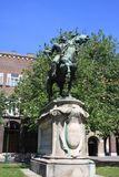 Статуя II Rakoczi Ferenc в Szeged, Венгрии, зоне Csongrad стоковое фото