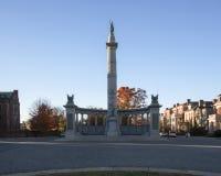 Статуя Jefferson Davis Стоковая Фотография