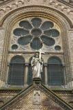 статуя jesus собора Стоковое Изображение