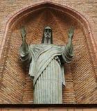 статуя jesus стоковые изображения rf