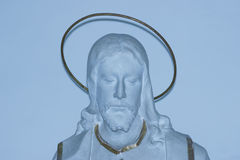 статуя jesus Стоковое Изображение