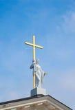 статуя jesus Стоковые Изображения