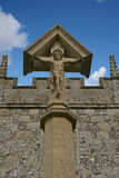 статуя jesus Стоковое фото RF