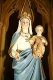 статуя jesus mary Стоковое Изображение