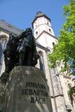 статуя johann sebastian bach Стоковые Фотографии RF