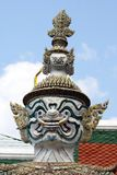 Статуя, kaeo Wat Phra, Бангкок, Таиланд Стоковые Изображения RF