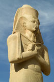 статуя karnak стоковая фотография rf
