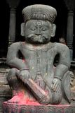 статуя kathmandu Непала Стоковая Фотография