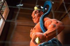 Статуя kongourikishi - бога попечителя Стоковое Изображение RF