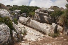 Статуя Kouros Naxos стоковые изображения rf