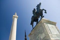 статуя la fayette Стоковая Фотография