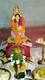 Статуя Laxmi стоковые фотографии rf