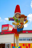 Статуя lego рассказа игрушки Стоковая Фотография