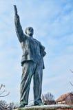 статуя lenin Стоковые Изображения
