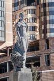 Статуя Lesya Ukrainka Стоковые Фотографии RF