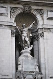 статуя london Нептуна Стоковое фото RF