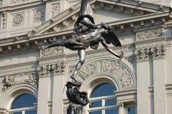 статуя london эрота Стоковое фото RF