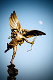 статуя london эрота Стоковые Фото