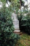 Статуя Luigi Albertini, АНКОНЫ, ИТАЛИИ стоковые изображения