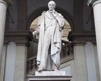 Статуя Luigi Cagnola стоковое фото rf