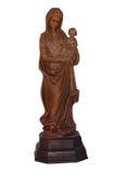 статуя madonna ребенка Стоковая Фотография