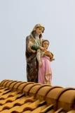 статуя madonna Стоковое Изображение RF