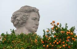 Статуя Mao руководителя в Чанше Стоковое Фото