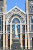Статуя mary девственницы Стоковая Фотография